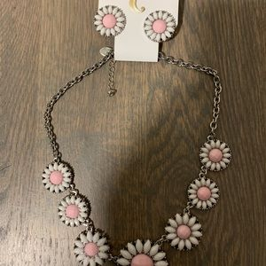 Charming Charlie necklace and matching earrings